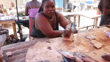 Vendeuse à Madibou